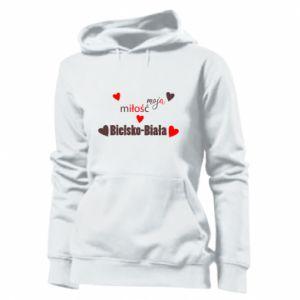 Damska bluza Moja miłość to Bielsko-Biała - PrintSalon