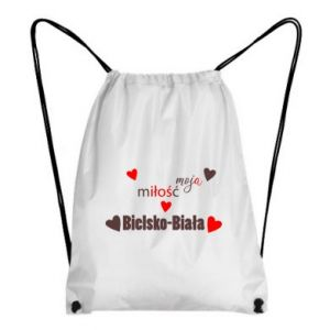 Backpack-bag My love is Bielsko-Biala