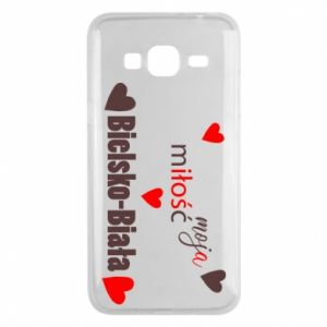 Samsung J3 2016 Case My love is Bielsko-Biala