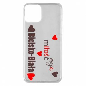 iPhone 11 Case My love is Bielsko-Biala