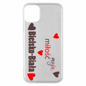 iPhone 11 Pro Case My love is Bielsko-Biala