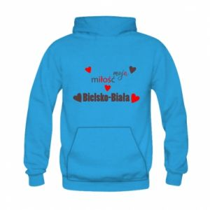 Kid's hoodie My love is Bielsko-Biala