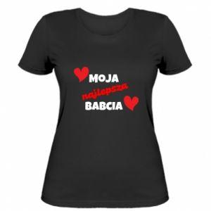 Damska koszulka Moja najlepsza babcia