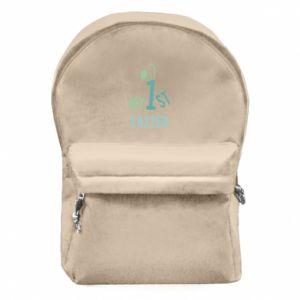 Plecak z przednią kieszenią Moja pierwsza Wielkanoc dla syna