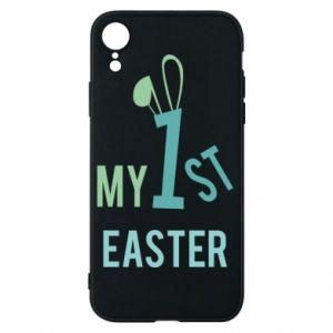Etui na iPhone XR Moja pierwsza Wielkanoc dla syna