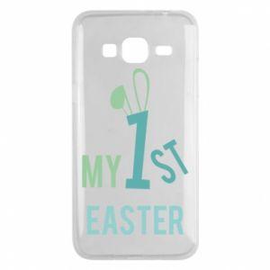 Etui na Samsung J3 2016 Moja pierwsza Wielkanoc dla syna