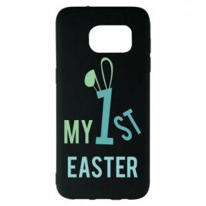 Etui na Samsung S7 EDGE Moja pierwsza Wielkanoc dla syna