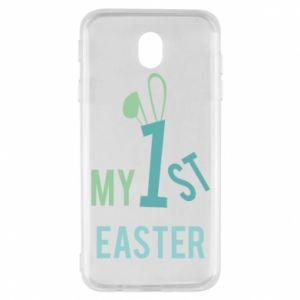 Etui na Samsung J7 2017 Moja pierwsza Wielkanoc dla syna