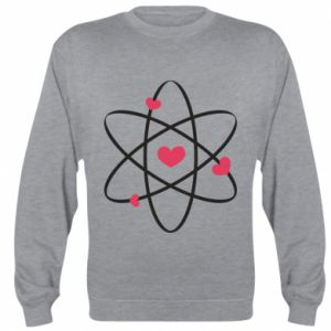 Sweatshirt Molecule of hearts