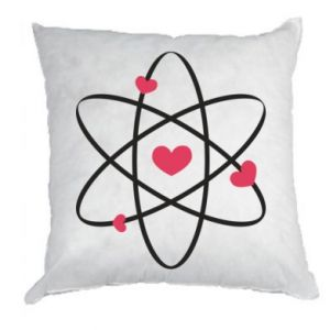 Pillow Molecule of hearts