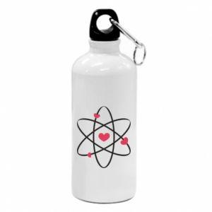Water bottle Molecule of hearts