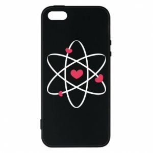 Phone case for iPhone 5/5S/SE Molecule of hearts