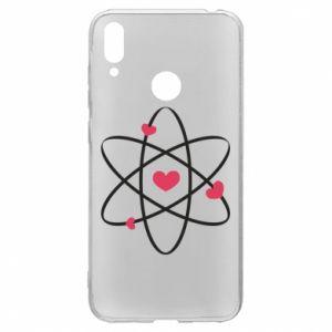 Huawei Y7 2019 Case Molecule of hearts