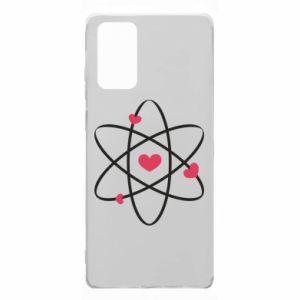 Samsung Note 20 Case Molecule of hearts