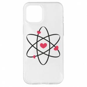 iPhone 12 Pro Max Case Molecule of hearts