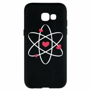 Phone case for Samsung A5 2017 Molecule of hearts