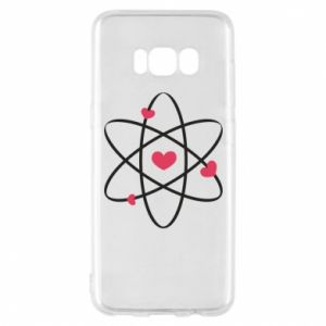 Phone case for Samsung S8 Molecule of hearts