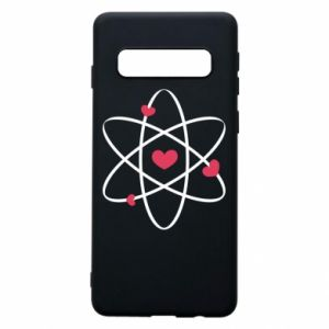 Phone case for Samsung S10 Molecule of hearts