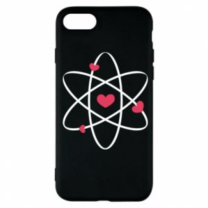 Phone case for iPhone 7 Molecule of hearts
