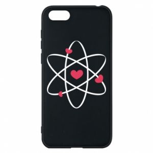 Phone case for Huawei Y5 2018 Molecule of hearts