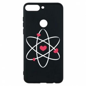Phone case for Huawei Y7 Prime 2018 Molecule of hearts