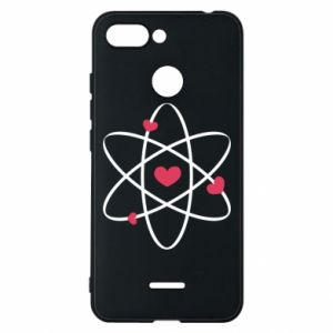 Phone case for Xiaomi Redmi 6 Molecule of hearts