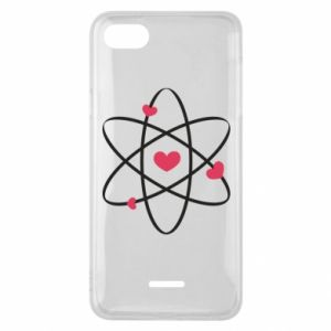 Phone case for Xiaomi Redmi 6A Molecule of hearts