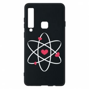 Phone case for Samsung A9 2018 Molecule of hearts