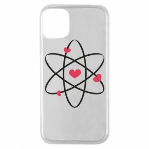 Phone case for iPhone 11 Pro Molecule of hearts