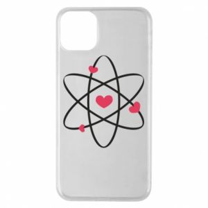 Phone case for iPhone 11 Pro Max Molecule of hearts