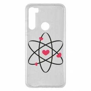 Xiaomi Redmi Note 8 Case Molecule of hearts