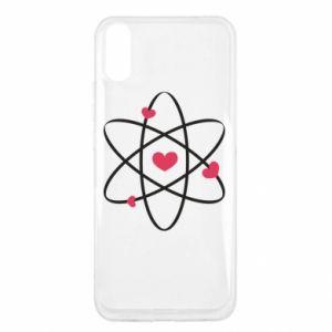 Xiaomi Redmi 9a Case Molecule of hearts