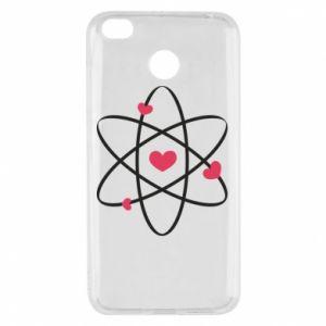 Xiaomi Redmi 4X Case Molecule of hearts
