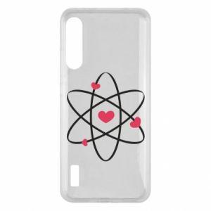 Xiaomi Mi A3 Case Molecule of hearts