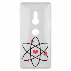 Sony Xperia XZ2 Case Molecule of hearts