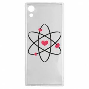 Sony Xperia XA1 Case Molecule of hearts