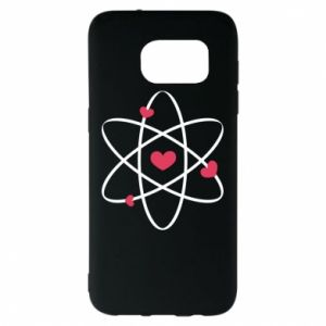 Samsung S7 EDGE Case Molecule of hearts