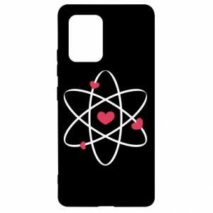 Samsung S10 Lite Case Molecule of hearts