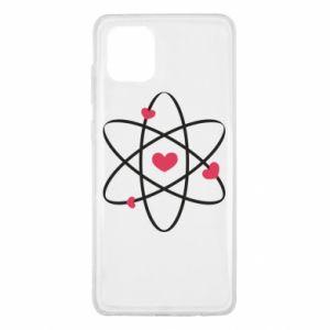 Samsung Note 10 Lite Case Molecule of hearts