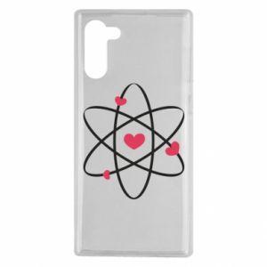 Samsung Note 10 Case Molecule of hearts