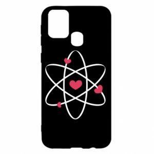 Samsung M31 Case Molecule of hearts
