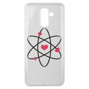 Samsung J8 2018 Case Molecule of hearts