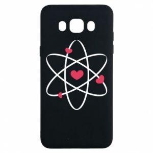 Samsung J7 2016 Case Molecule of hearts