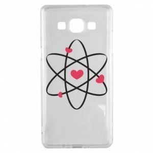 Samsung A5 2015 Case Molecule of hearts
