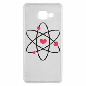 Samsung A3 2016 Case Molecule of hearts