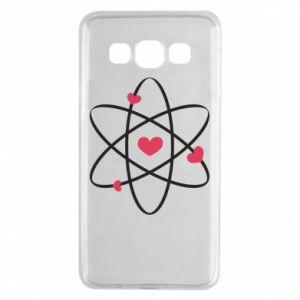 Samsung A3 2015 Case Molecule of hearts