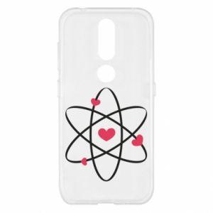 Nokia 4.2 Case Molecule of hearts