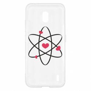 Nokia 2.2 Case Molecule of hearts