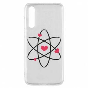 Huawei P20 Pro Case Molecule of hearts