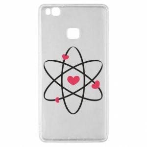 Huawei P9 Lite Case Molecule of hearts